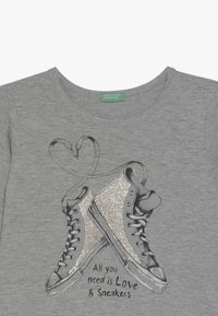 Benetton - Langærmede T-shirts - grey - 4