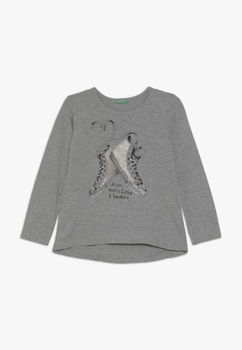 Benetton - Langærmede T-shirts - grey