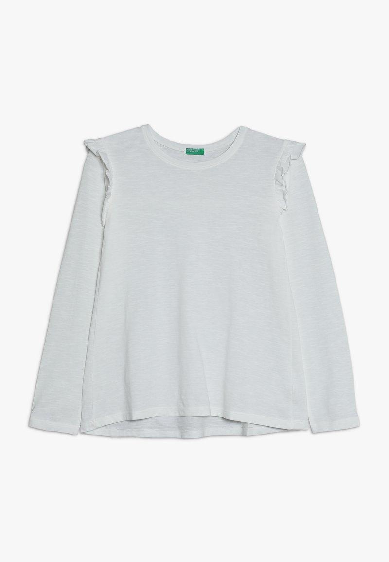 Benetton - Långärmad tröja - white