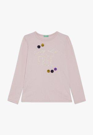 Långärmad tröja - rose