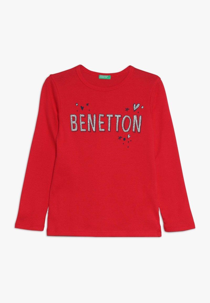 Benetton - Langærmede T-shirts - red