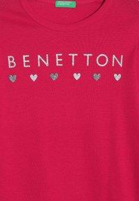 Benetton - Långärmad tröja - pink - 3