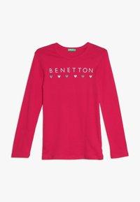 Benetton - Långärmad tröja - pink - 0