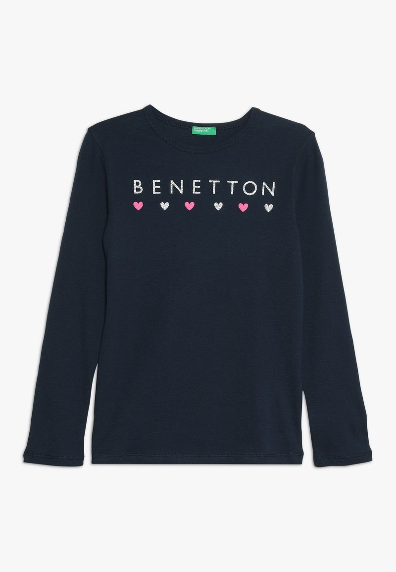 Benetton - Maglietta a manica lunga - dark blue