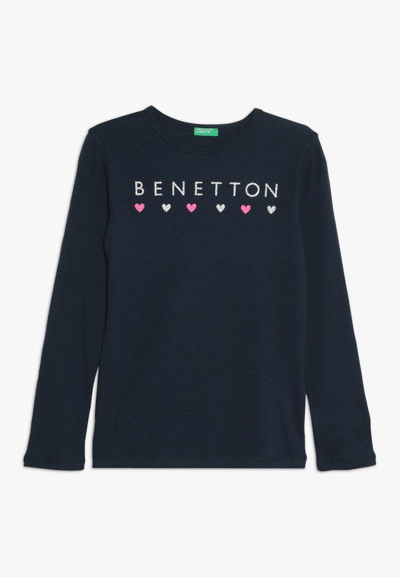 Benetton - Long sleeved top - dark blue