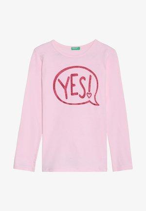 Maglietta a manica lunga - light pink