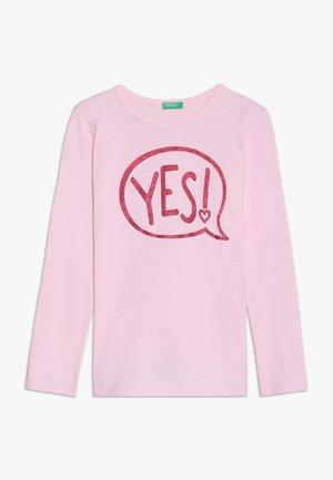 Bluzka z długim rękawem - light pink