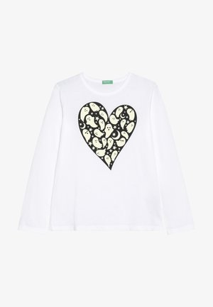 LONG SLEEVES  - Maglietta a manica lunga - white