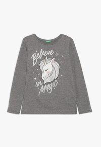 Benetton - LONG SLEEVES  - Långärmad tröja - grey - 0
