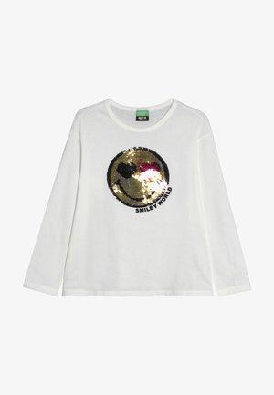 LONG SLEEVES - Langærmede T-shirts - white
