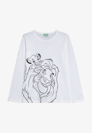 LION KING - Long sleeved top - white