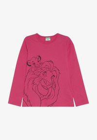 Benetton - LION KING - Long sleeved top - pink - 2
