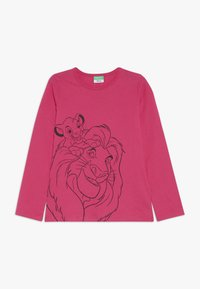 Benetton - LION KING - Long sleeved top - pink - 0