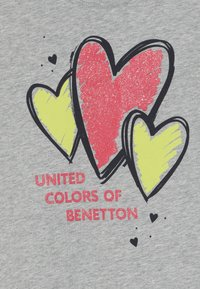 Benetton - T-shirt z nadrukiem - grey - 3