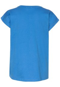 Benetton - Print T-shirt - blue - 1