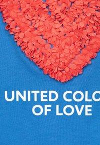 Benetton - Print T-shirt - blue - 2