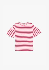 Benetton - Print T-shirt - red/white - 1