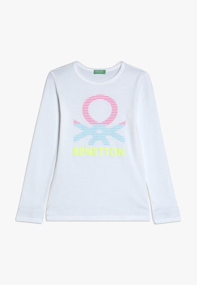 Langarmshirt - white