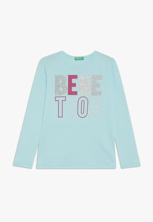 Long sleeved top - lightblue