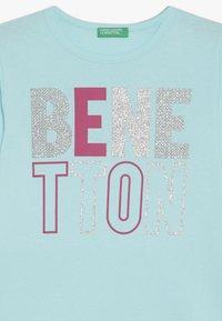 Benetton - Long sleeved top - lightblue - 3