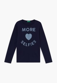 Benetton - Longsleeve - dark blue - 0