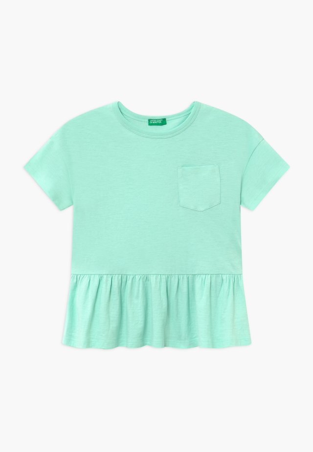 Camiseta estampada - mint