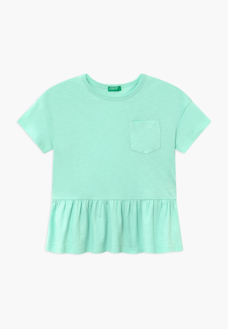 Benetton - Print T-shirt - mint