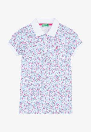 Koszulka polo - white/lilac