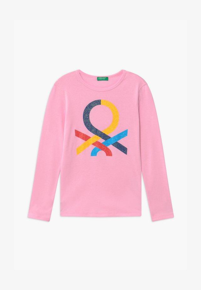 BASIC GIRL - Maglietta a manica lunga - light pink