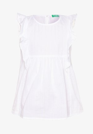 SLEEVELESS - Blouse - white