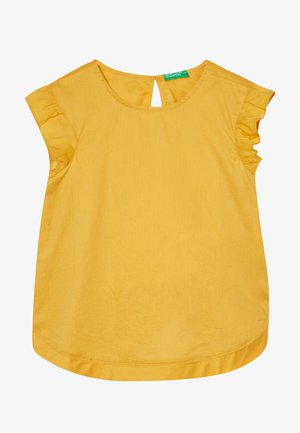 SLEEVELESS - Bluzka - mustard yellow
