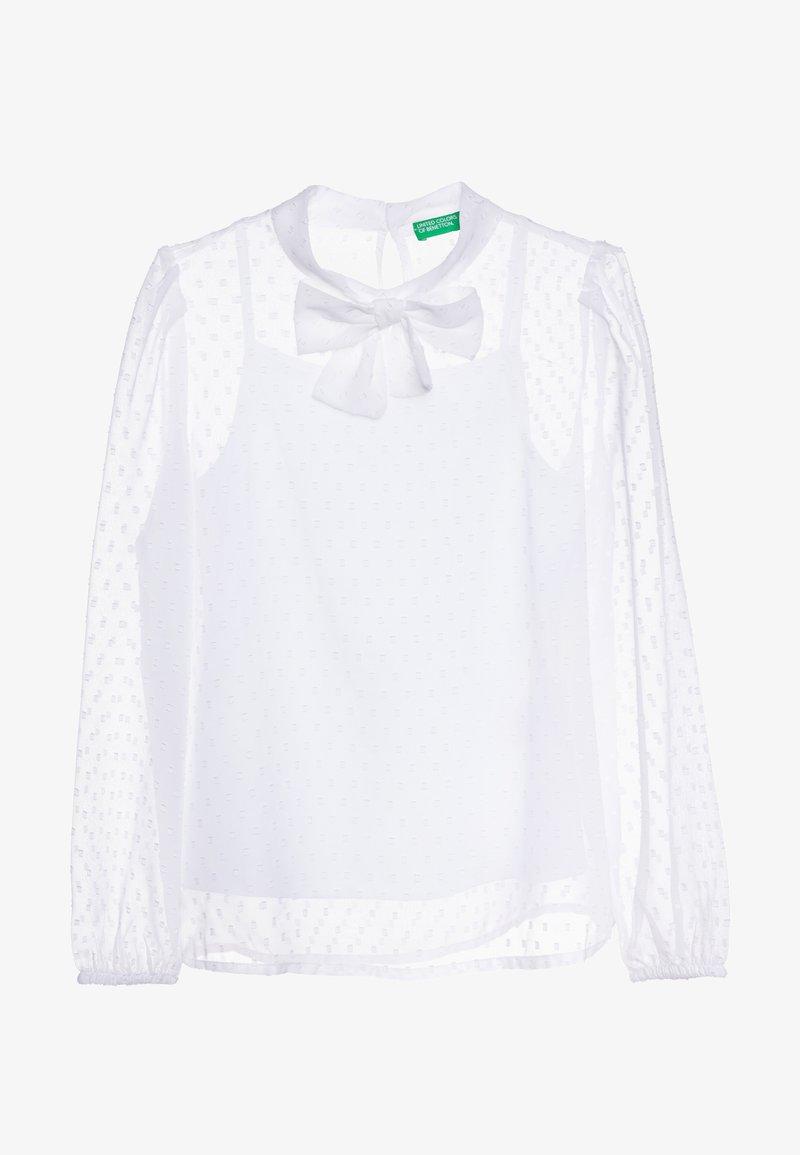 Benetton - Blouse - white