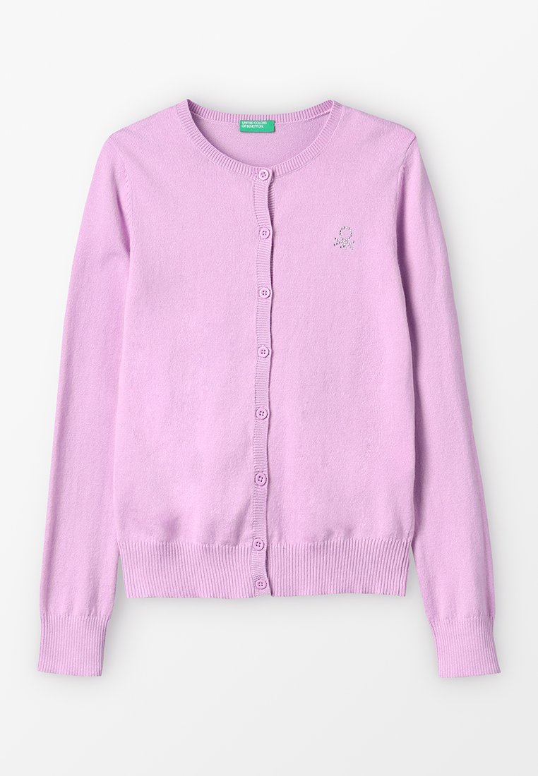 Benetton - BASIC KIDS - Gilet - lilac