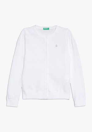 BASIC TODDLER - Cardigan - white
