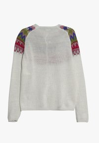Benetton - Strickjacke - white/multi-coloured - 1