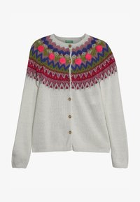 Benetton - Strickjacke - white/multi-coloured - 2