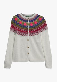 Benetton - Strickjacke - white/multi-coloured - 0
