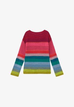 Pullover - multi-coloured