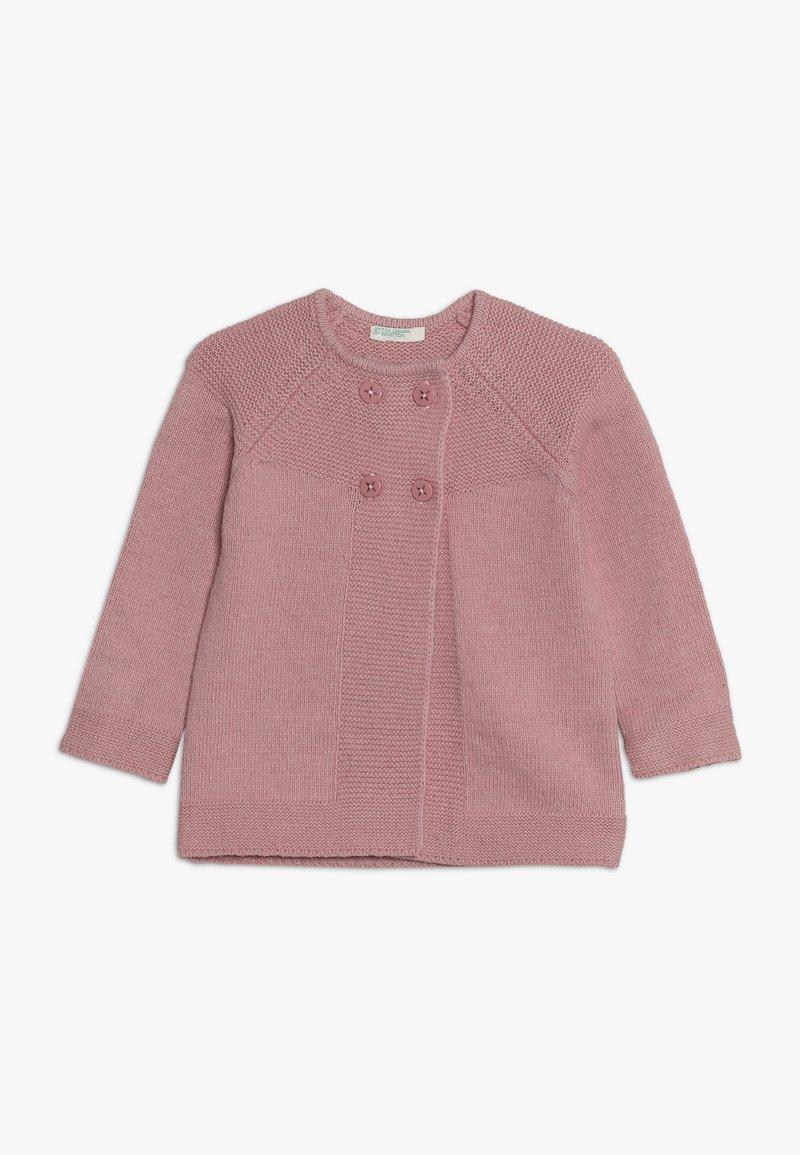 Benetton - Strikjakke /Cardigans - light pink