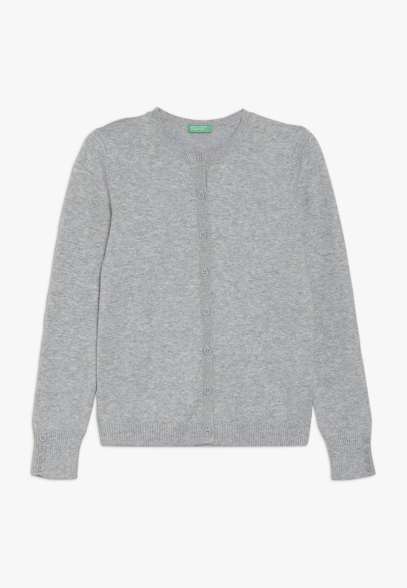 Benetton - Strikjakke /Cardigans - grey