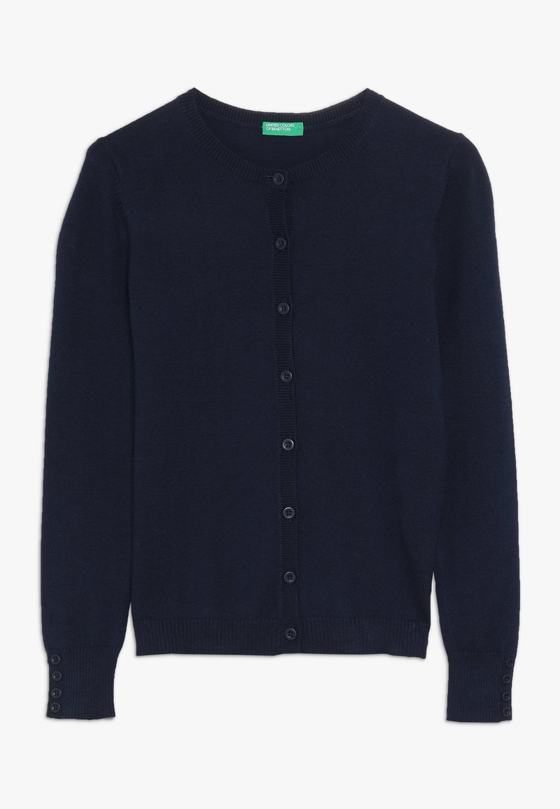 Benetton - Strikjakke /Cardigans - dark blue