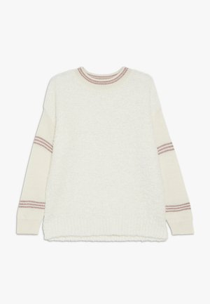 Strickpullover - white