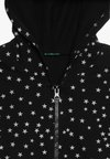Benetton - JACKET HOOD  - Sweatjacke - black