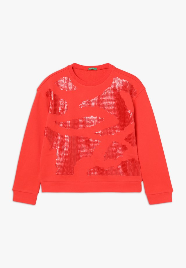 SWEATER - Sweater - red
