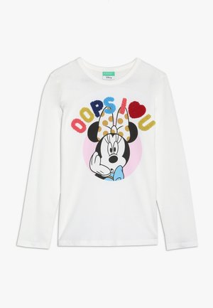 MINNIE MOUSE - Long sleeved top - white