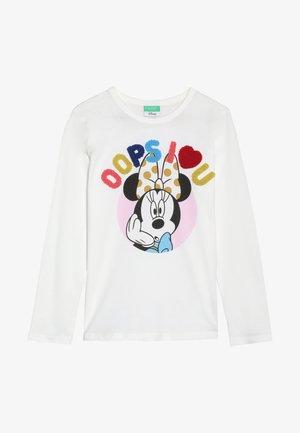MINNIE MOUSE - Maglietta a manica lunga - white