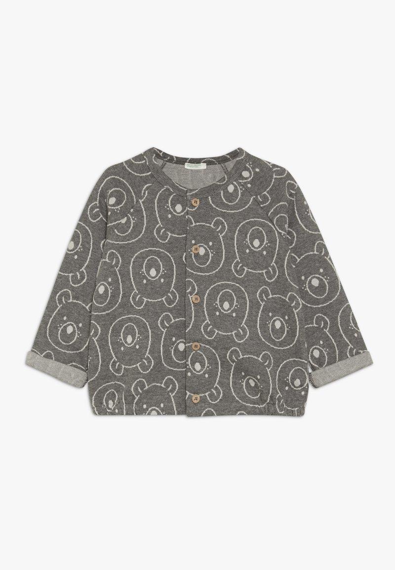 Benetton - JACKET - Zip-up hoodie - grey