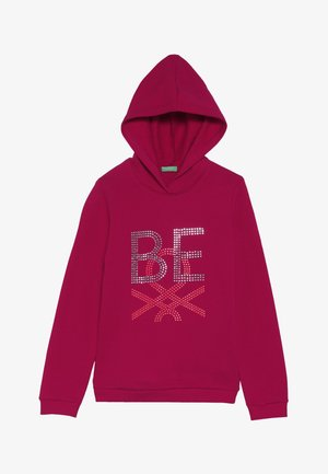 HOOD - Bluza z kapturem - red