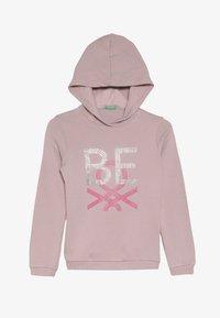 Benetton - HOOD - Hoodie - pink - 2