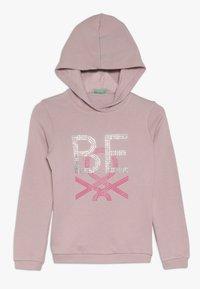 Benetton - HOOD - Hoodie - pink - 0